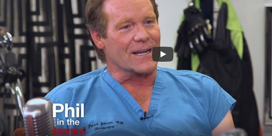 Dr. Johnson Interviewed on Dr. Phil's Phil in the Blanks