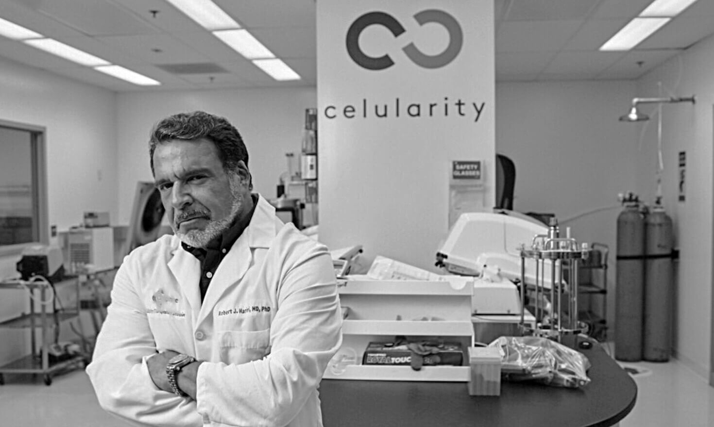 Photo of Celularity founder Robert Hariri.